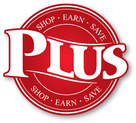 Plus Rewards Logo